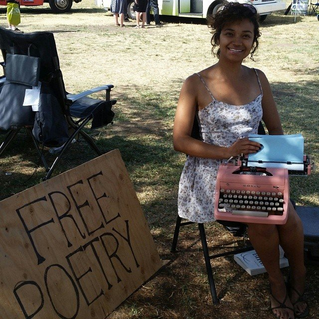 Free Poetry at WorldFest Los Angeles, 2014.