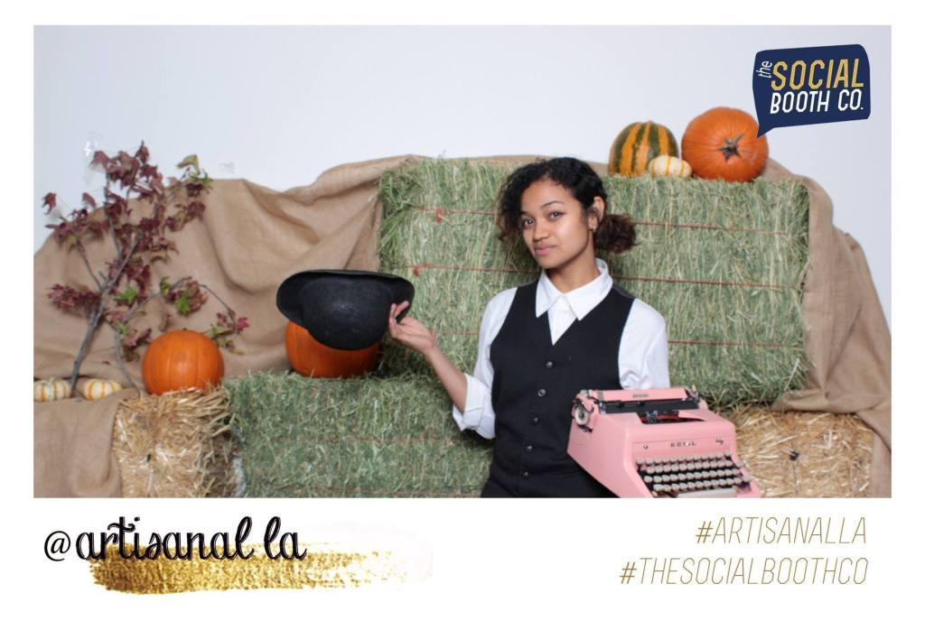 Artisanal LA Typewriter Poetry Billimarie The Social Booth Co